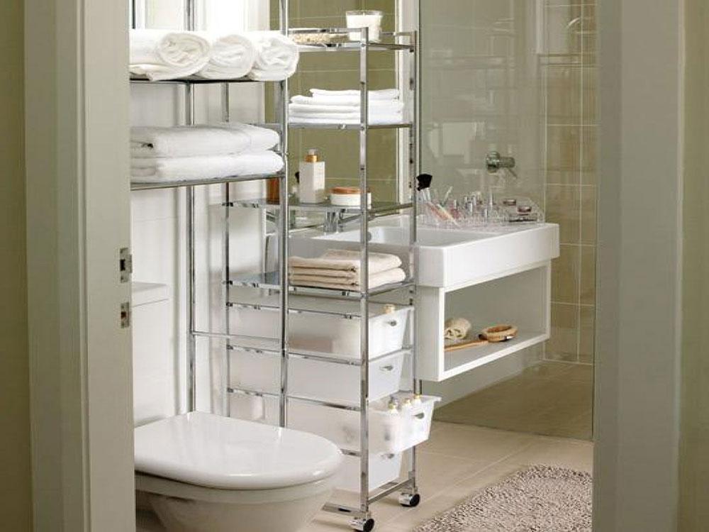 Bathroom Tower Storage Little Design Hacks That Will Transform Your Small Bathroom