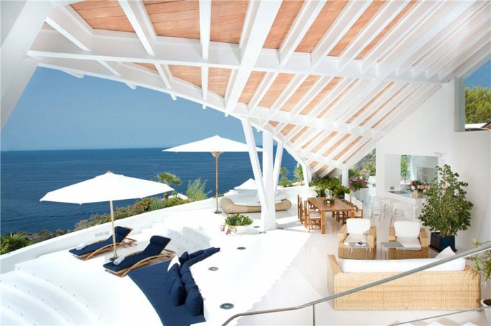 65790797293 Luxurious house with beautiful views and white rooms in Cala Marmacen