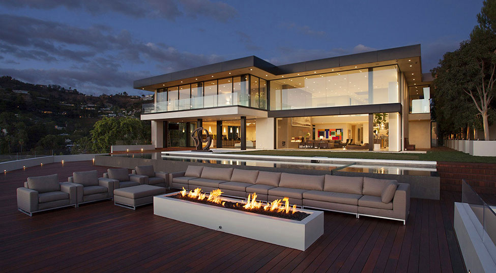 Los-Angeles-Luxury-Villa-Designed-1 Los Angeles-Luxury-Villa Designed by Mcclean Design Architects