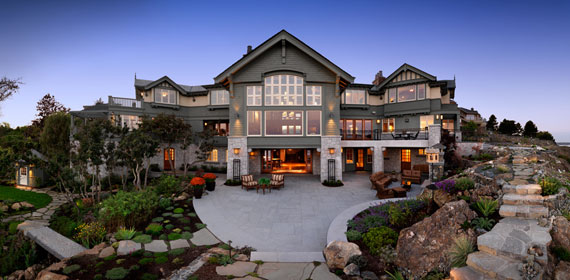 v1 Maclure-Style Ocean-Front Home Windward Oaks By Michael Knight