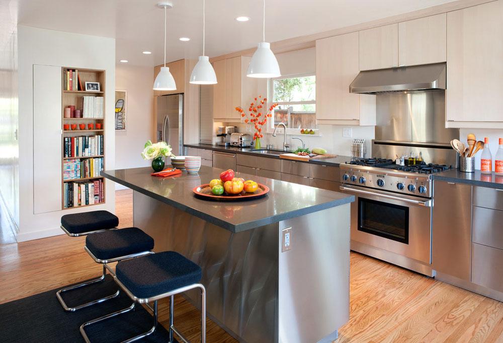 Ordway-by-Eisenmann-Architektur metal kitchen cabinets: stainless steel furniture for your kitchen