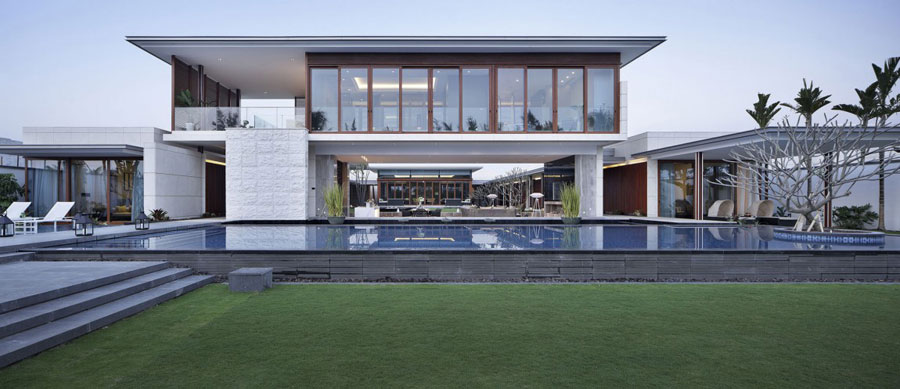 1 modern Chinese villa with luxurious features Designed by Gad