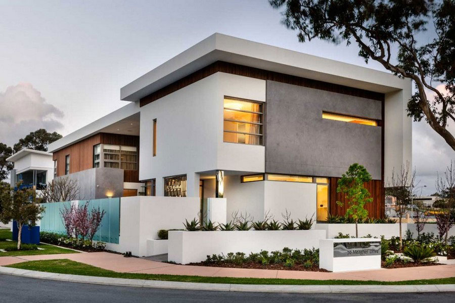 Modern house with fresh interior design and slim architecture 1 Modern house with fresh interior design and lean architecture