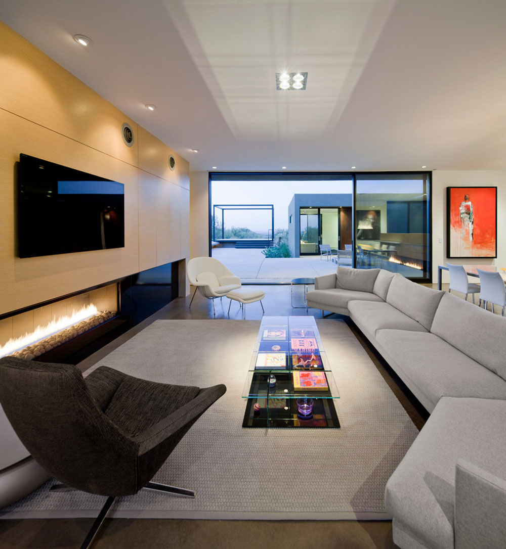 Levin-Residence-Ibarra-Rosano-Design-Architects Modern interior design styles