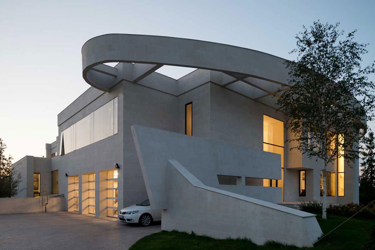 Modern villa near Moscow, designed by SL-Project-1 Modern villa near Moscow, designed by SL * Project