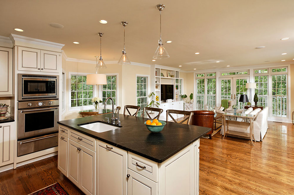 Open Kitchen and Living Room Design Ideas1 Open Kitchen and Living Room Design Ideas