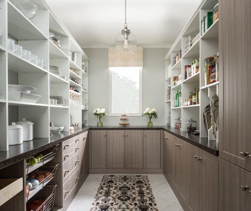 Pantry-by-The-Organized-Home Pantry cabinet ideas: shelf and storage ideas for your kitchen