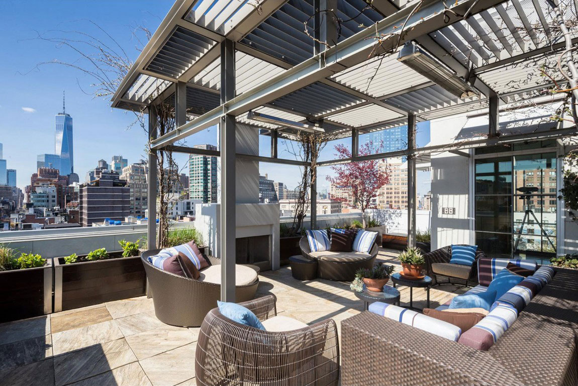 Penthouse-BA-High Quality New York Property-1 Penthouse B, a high quality New York property