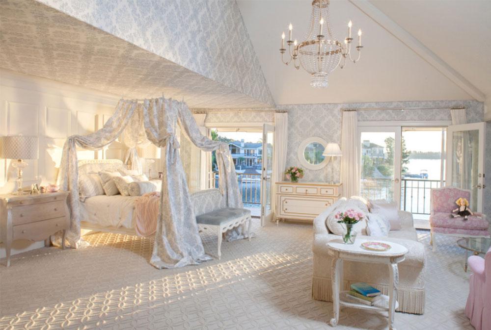 Image 1-5 princess bedroom ideas for little girls