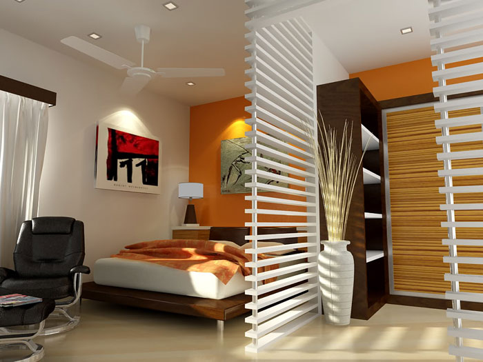 76955144152 Proof that a small bedroom interior can look great