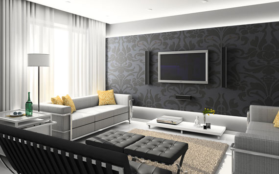 wall1 secrets to creating a chic family room