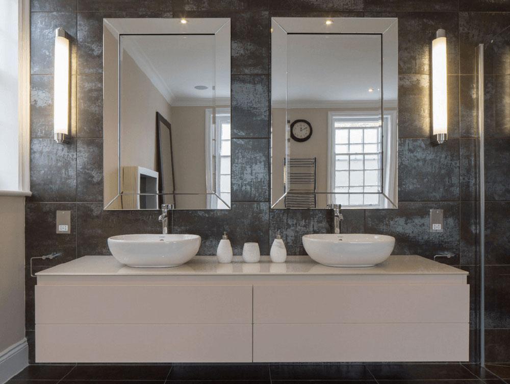 Double Mirror Granite Bathroom Simple Ideas to Update Your Bathroom