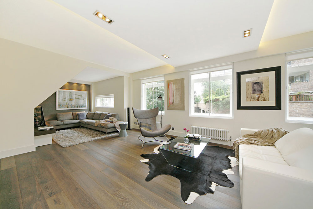 Private-home-London-by-Squared-Interiors-LTD Small apartment living room ideas on a budget