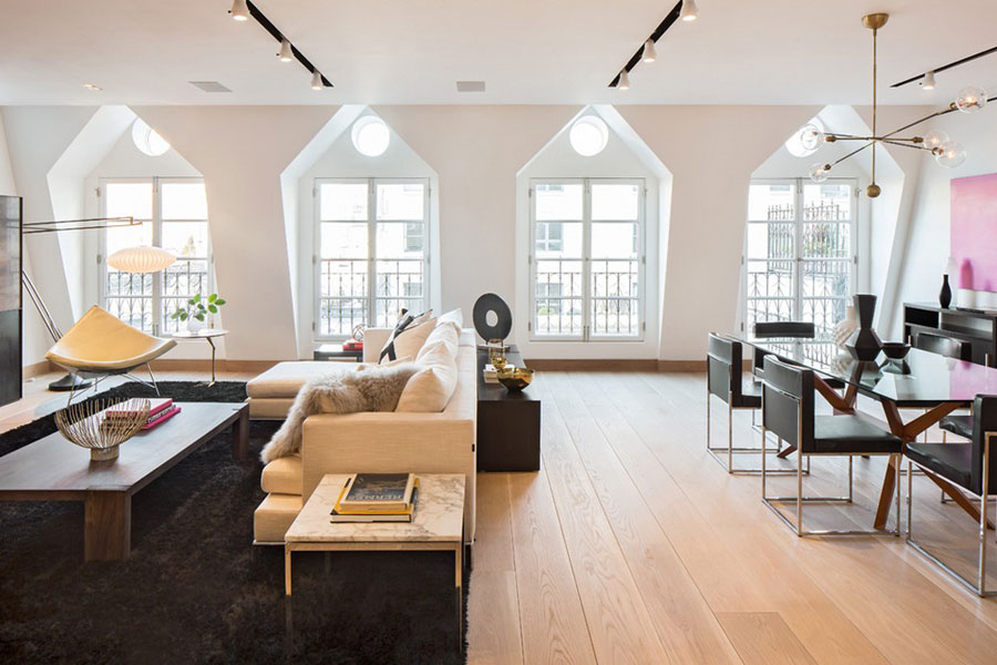 1 Magnificent Tribeca penthouse designed by Turett Collaborative Architects