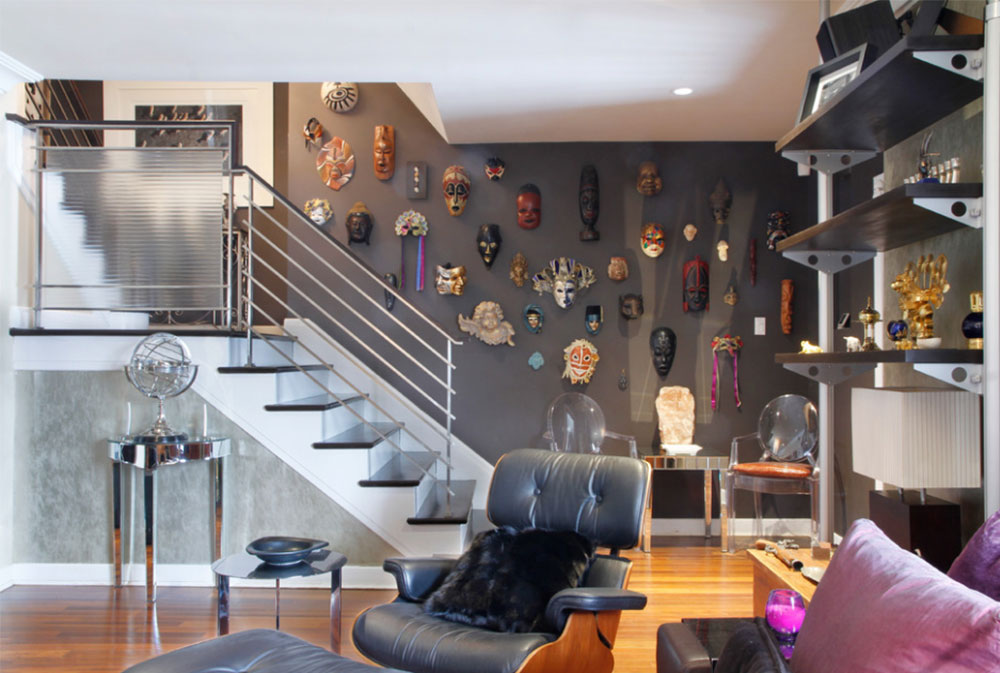 Image 2-8 Stair walls decoration ideas