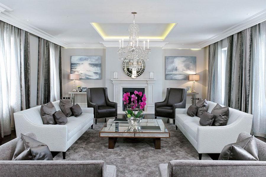 1 stylish British home with spacious and elegant interior design