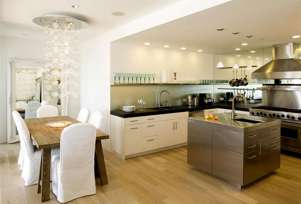 Sympathetic kitchen and dining room combinations-10 Sympathetic kitchen and dining room combinations