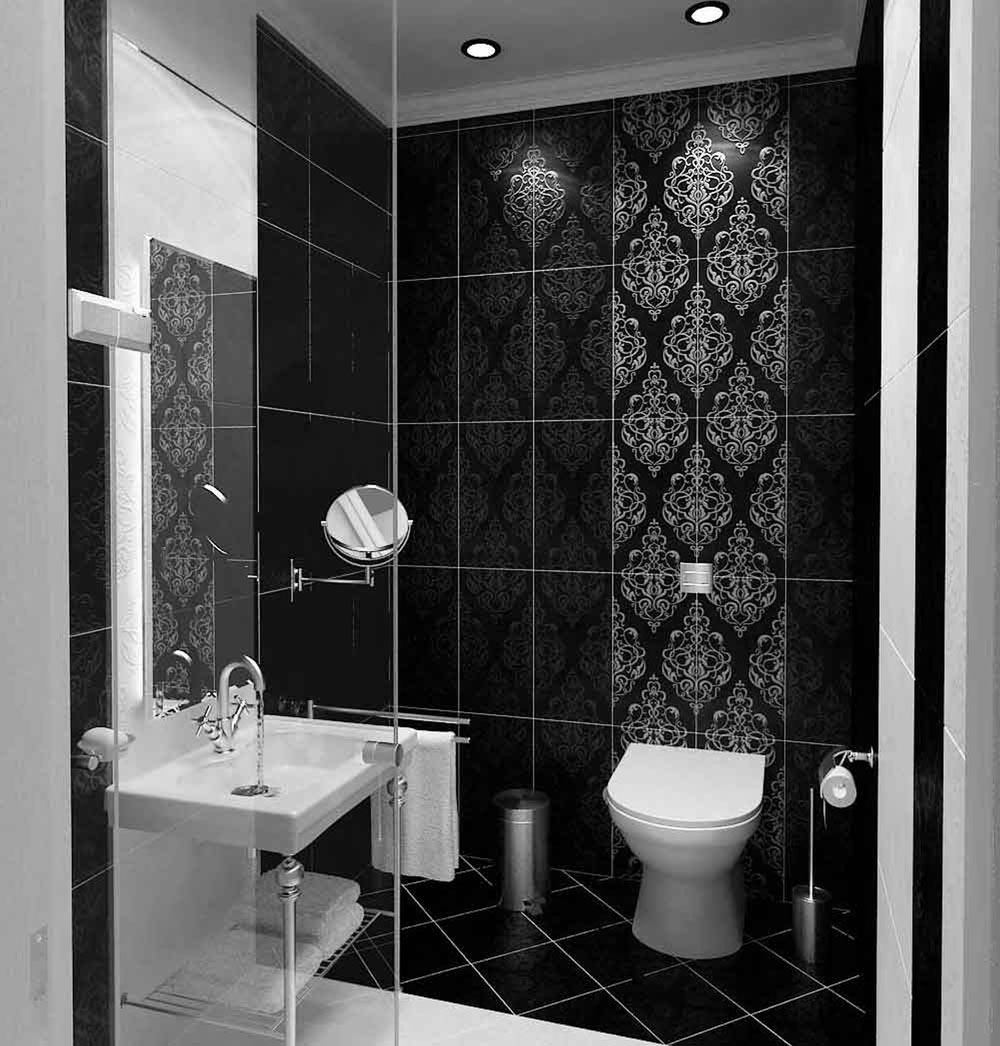 Take a look at these black bathroom interiors-1 Take a look at these black bathroom interiors