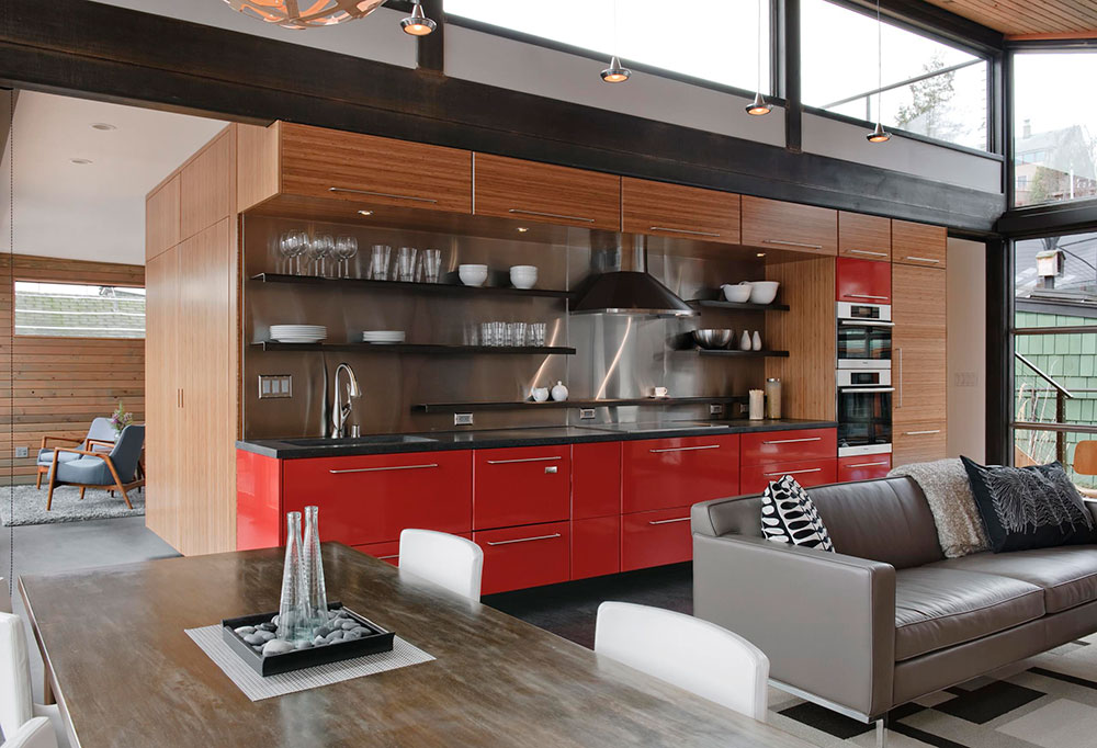 The advantages and disadvantages of open and closed kitchens1 The advantages and disadvantages of open and closed kitchens