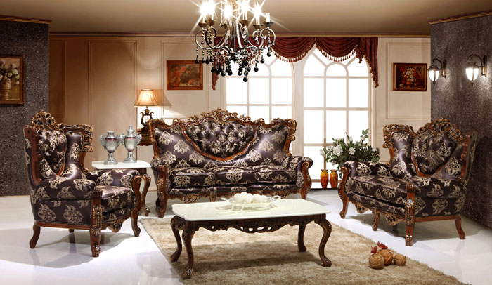 65796735720 The classic and stylish style of Victorian living rooms
