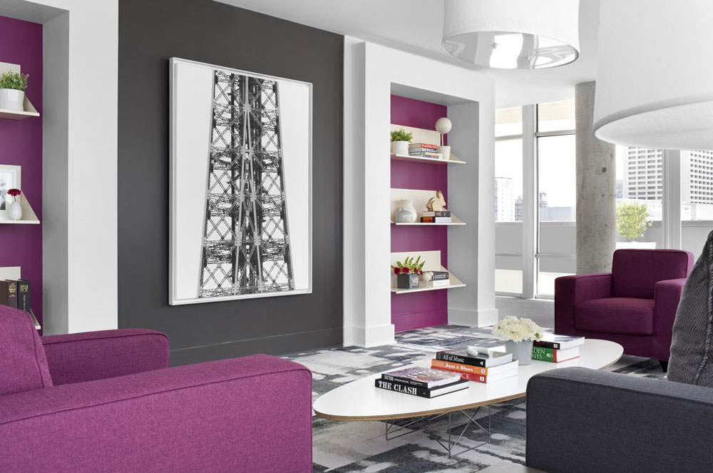 Sky - @ - MidCity-Lofts by Niki-Papadopoulos The color of lavender and the colors that go with lavender