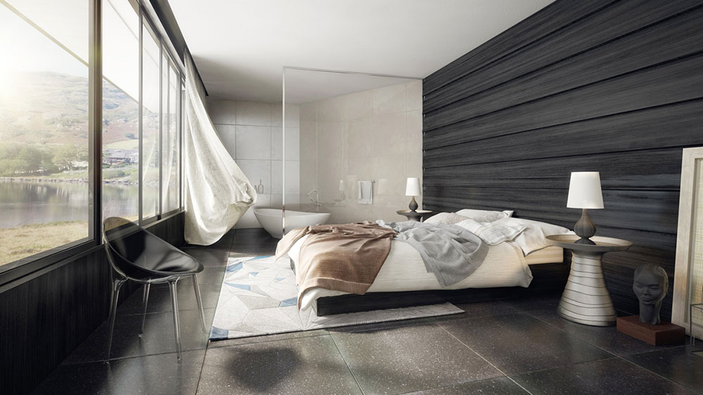 spacious, modern bedroom Top 4 Feng Shui tips for better sleep