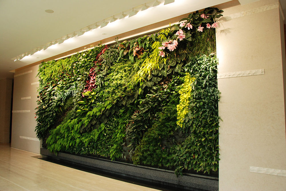clubhouseverticalgardenlevalaishongkong Why Modern Living Vertical Wall Gardens are the next big trend in interior design of 2019