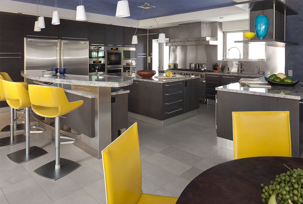Home-2-by-Architectural-Design-Consultants Yellow kitchen: decorative carpets, accessories and ideas