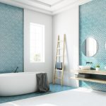 A collection of bathroom tile ideas