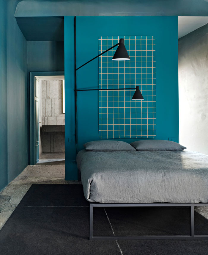 A collection of colorful and modern bedroom designs
