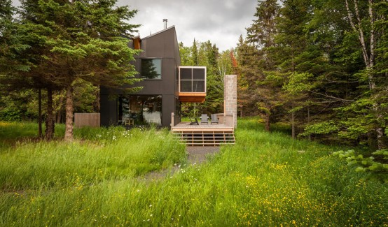 A Modern Home Overlooking Montana Designed by Cutler Anderson Architects