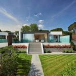 A pair of modern English houses with beautiful interiors