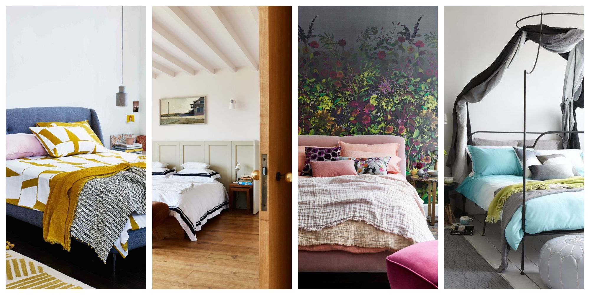 A wonderful collection of pictures of bedroom interiors