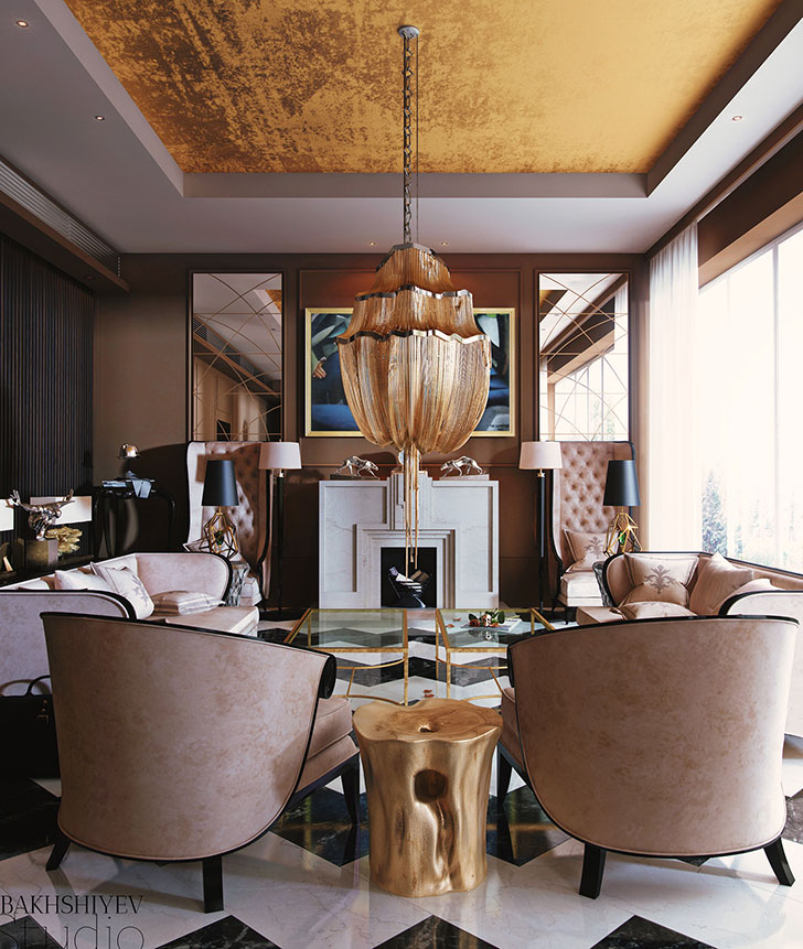 Art Deco interior design style, history and characteristics
