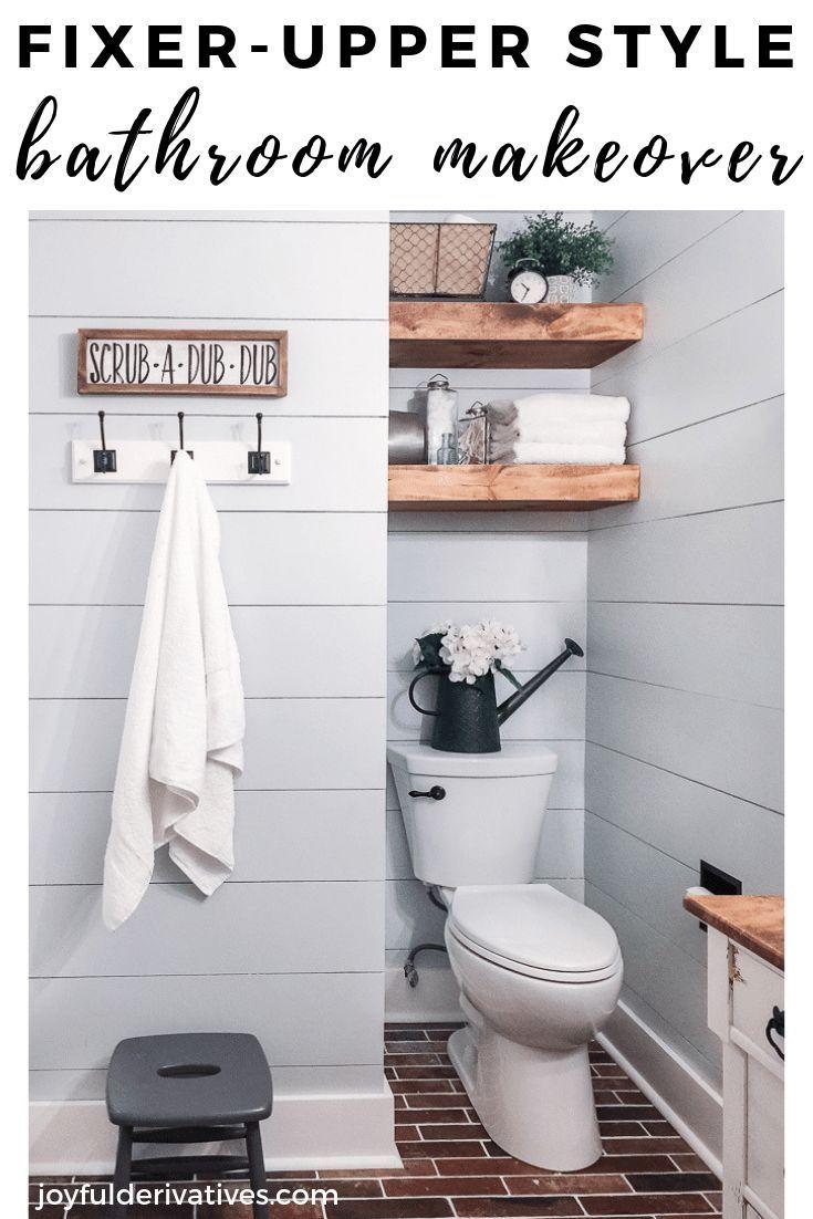 Bathroom in the farmhouse: decor, ideas, lighting and style