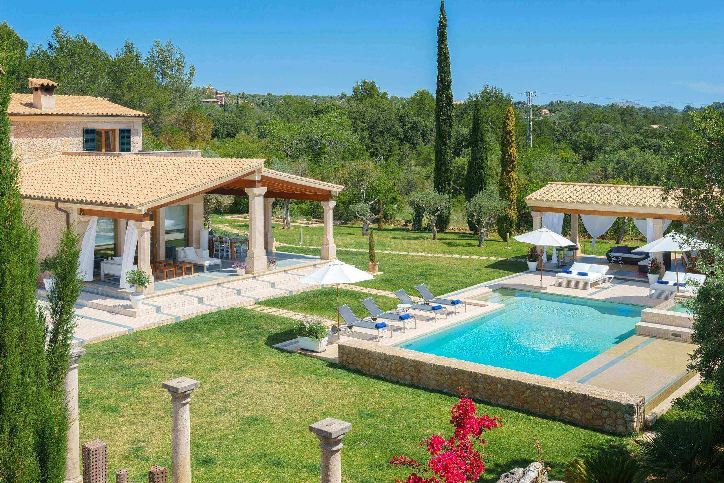 Beautiful luxurious villa in Mallorca that fulfills your wishes