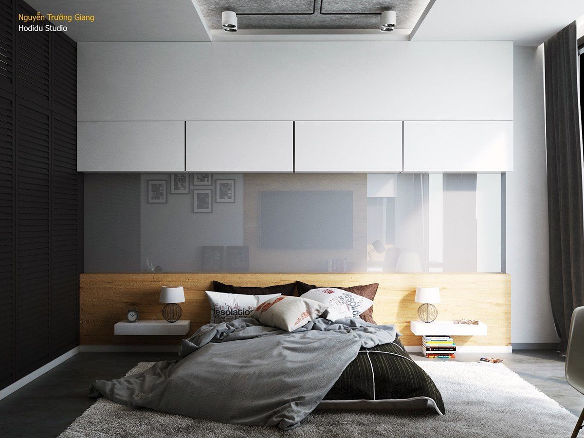 Black and white bedroom ideas – always elegant