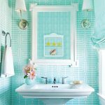 Blue bathroom ideas.  Design, decor and accessories