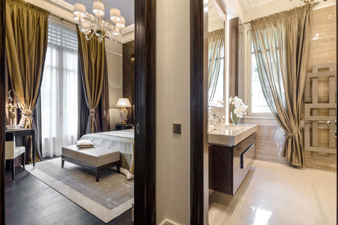 Chic Apartment Interior Design Created by NG Studio