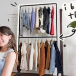 Clothes rack ideas to try out (hanging, free-standing, wood, metal)