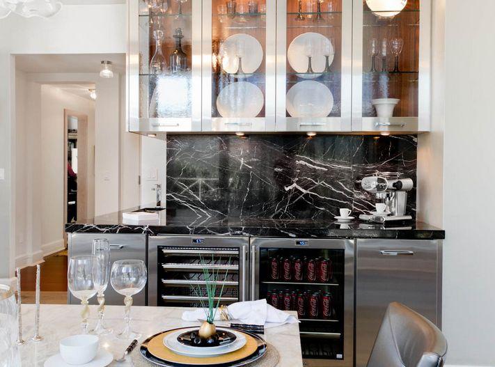 Create a Kitchen Modern interior design for a contemporary home