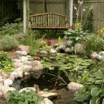 Create a unique garden with these garden pond design ideas
