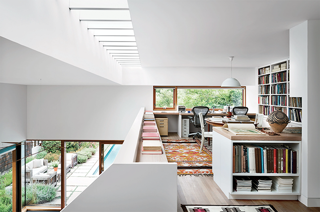 Creating a Home Library design ensures a relaxing space