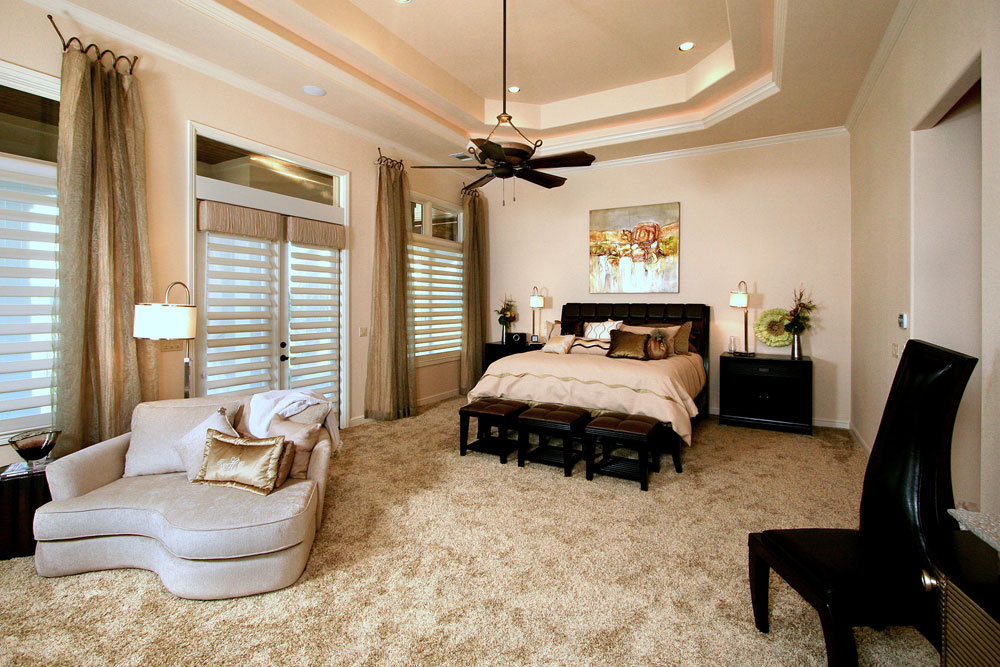 Creating an eye-catching focal point in your master bedroom
