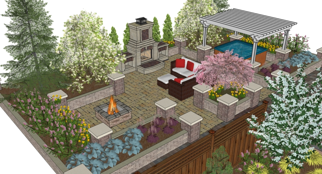Creating an outdoor oasis in your yard