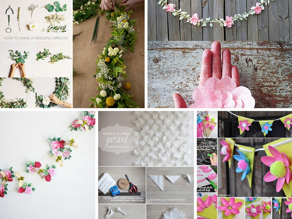Creative ideas for decorating with flowers