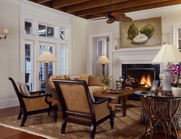 Decoration ideas in colonial style