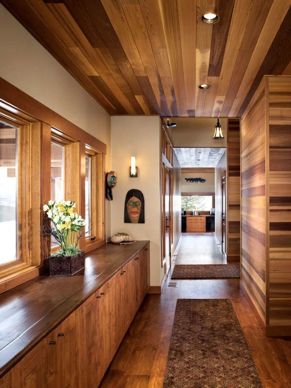 Design ideas for wooden ceilings
