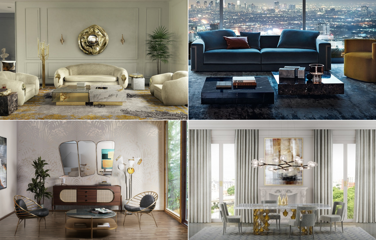 Different pieces of furniture for your high-end apartment in Malta
