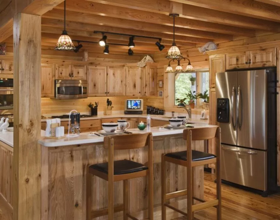 Eight furnishing ideas for small log houses